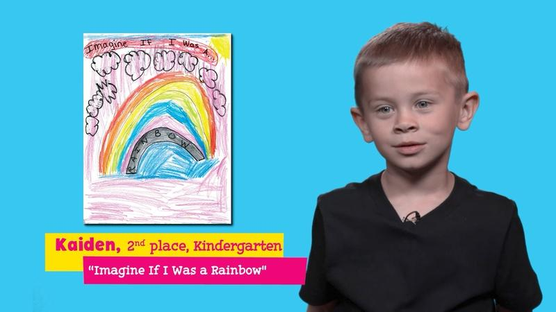 """Featuring """"Imagine If I Was a Rainbow"""" by Kaiden"""