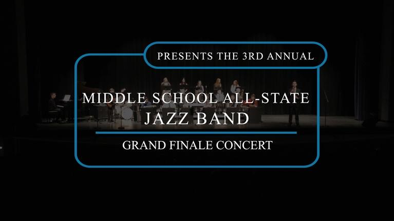 SDPB Specials: 2019 South Dakota Middle School All-State Jazz Band Concert
