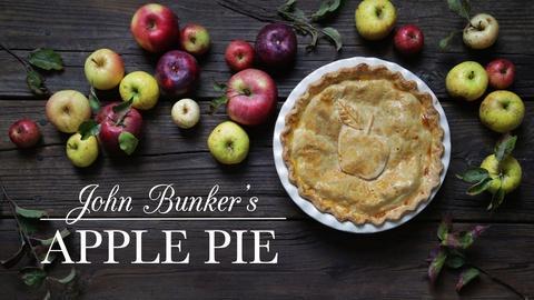 Kitchen Vignettes -- Apple Pie
