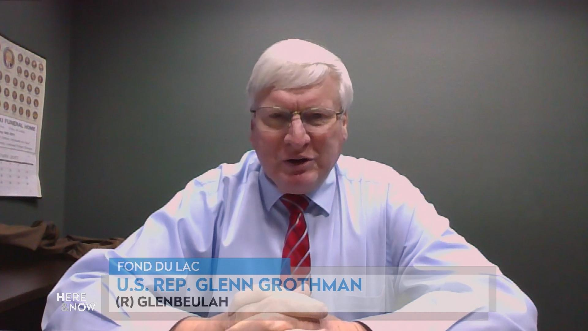 U.S. Rep. Grothman's Reaction to Calls of Removing Trump