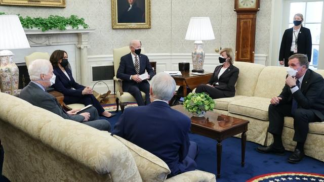 House nears vote on Biden's $1.9 trillion relief plan