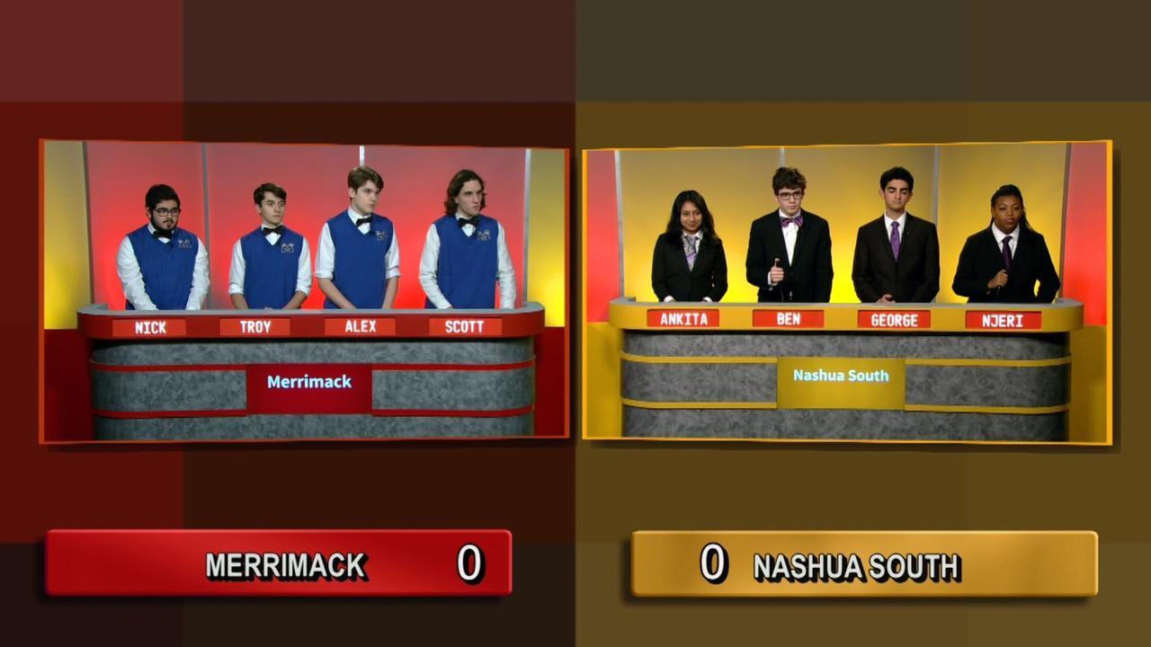 Quarter Final 4 - Nashua South Vs Merrimack