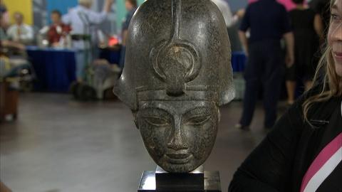 Antiques Roadshow -- S21 Ep18: Appraisal: 20th C. Reproduction Amenhotep III Ston