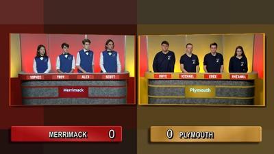 Granite State Challenge | Semifinal 2 - Plymouth Vs Merrimack