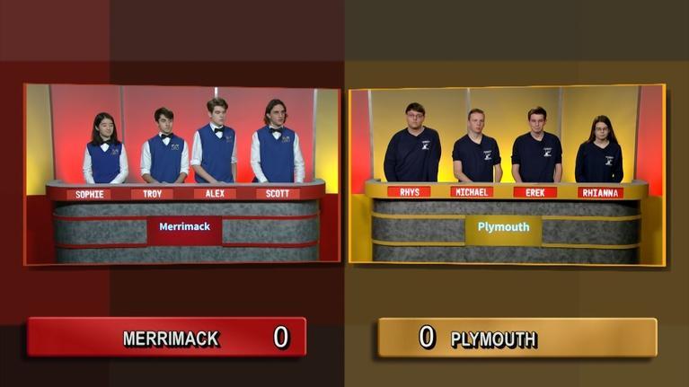 Granite State Challenge: Semifinal 2 - Plymouth Vs Merrimack