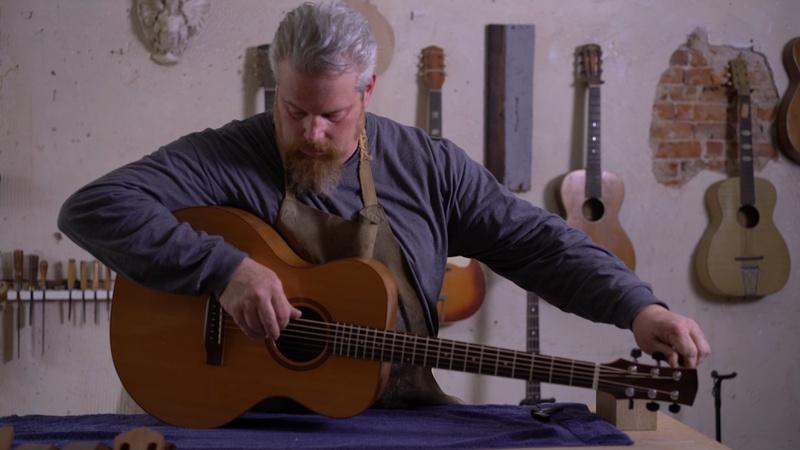 Gerald Strickland, Instrument Maker