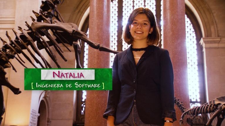 SciGirls: Natalia Rodriguez –Ingeniera de Software   Software Engineer