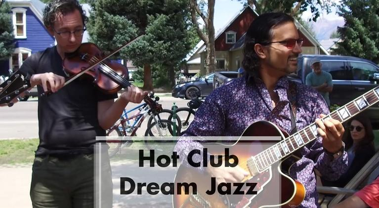 Arts District: Hot Club Dream Jazz & Lumonics