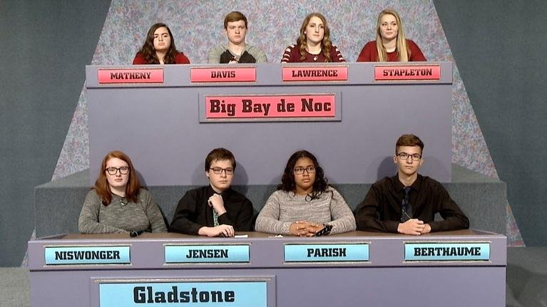 High School Bowl: 4107 Big Bay de Noc vs Gladstone