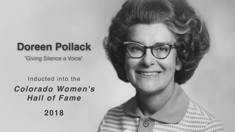 Great Colorado Women: Doreen Pollack