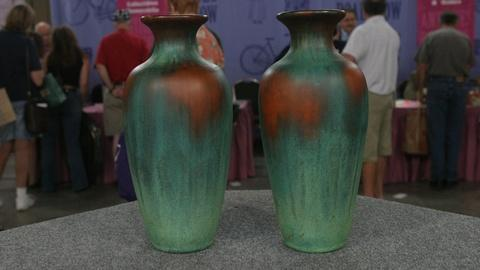S22 E24: Appraisal: Charles Clewell Vases, ca. 1925