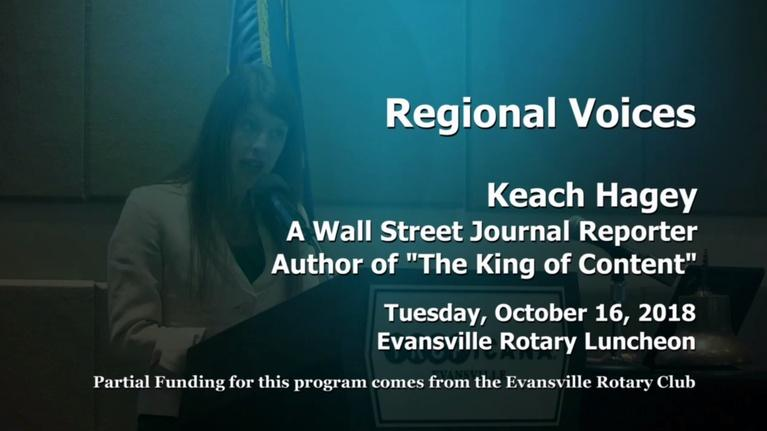 Evansville Rotary Club: Regional Voices: Keach Hagey, Wall Street Journal Reporter