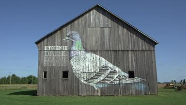 In rural Michigan, old barns become new art