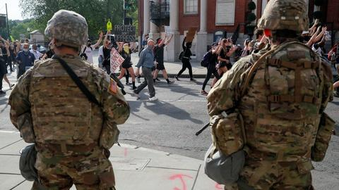'Armed forces exist to protect,' not police communities
