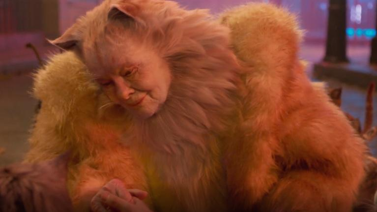 """Flicks: Dame Judi Dench and Laurie Davidson for """"Cats"""""""