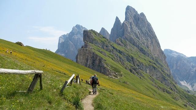 Austrian and Italian Alps