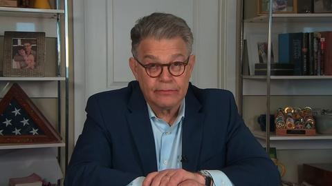 Amanpour and Company -- Former Sen. Al Franken Reacts to Pres. Trump's COVID Remarks
