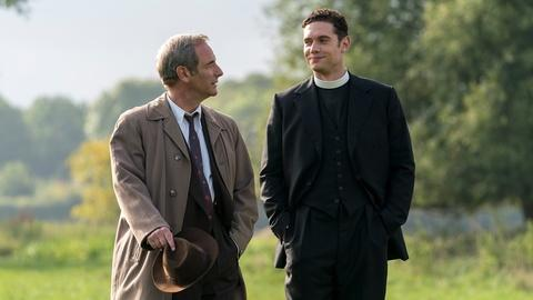 Grantchester -- Working with Robson Green