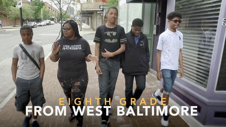 MPT Presents: Eighth Grade From West Baltimore