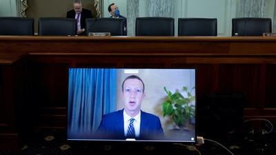 PBS NewsHour | Senate panel's social media hearing reveals partisan divide