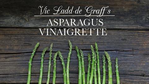 Kitchen Vignettes -- Asparagus Vinaigrette