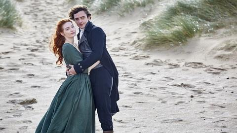Poldark -- Aidan and Eleanor on Hugh Armitage