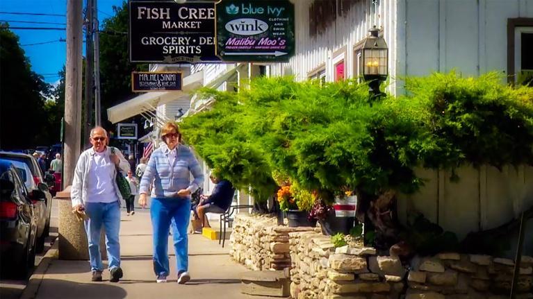 Around the Corner with John McGivern : Fish Creek & Ephraim 612