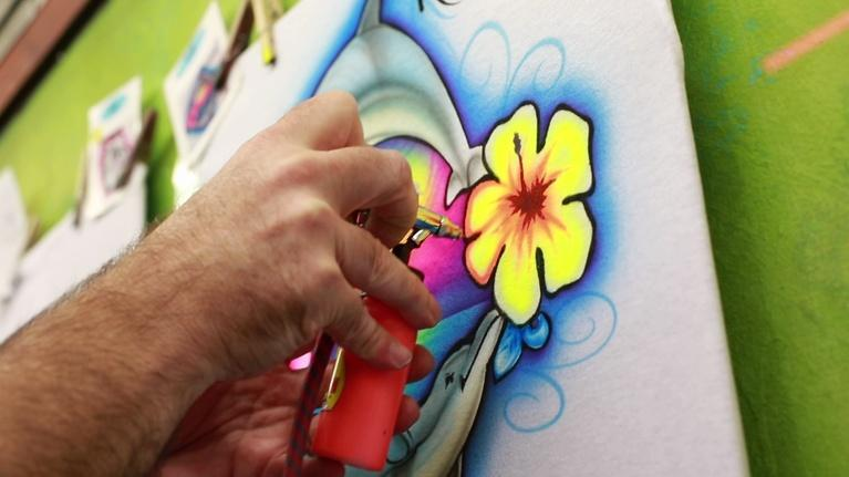 Local Routes: The Art of the Airbrush
