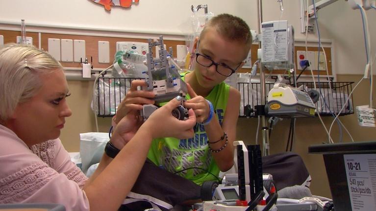 American Graduate: Robot Kits for Sick Children