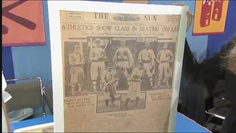 Antiques Roadshow -- Appraisal: 1914 Babe Ruth Baltimore Newspaper Cover