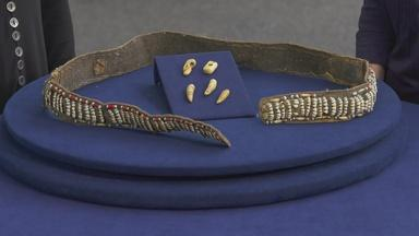 Appraisal: Inupiat Caribou Teeth Belt, ca. 1875