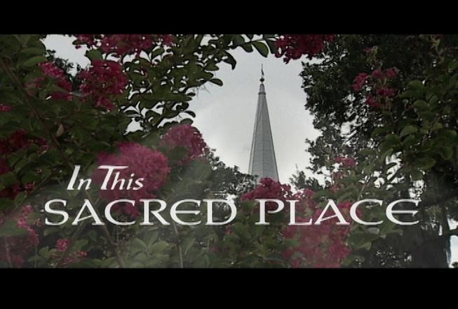 In This Sacred Place logo