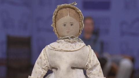 Antiques Roadshow -- S21 Ep22: Appraisal: Polly Heckewleder Rag Doll, ca. 1872