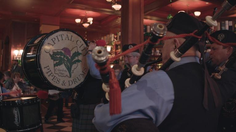 Broad and High: Capital City Pipes & Drums, St. Joseph Cathedral
