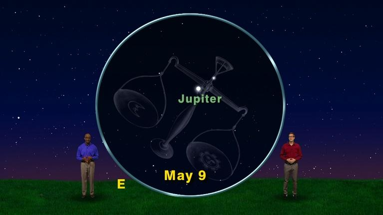 "Star Gazers: ""The Fifth Planet from the Sun!"" April 23-29th 1 Min"