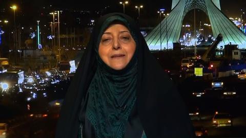 Amanpour and Company -- Massoumeh Ebtekar Accuses the US Government of Terrorism