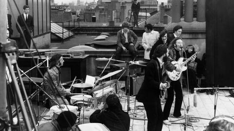 Watching the end of The Beatles through the lens of a camera