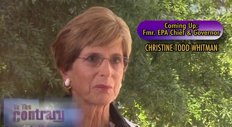 To The Contrary: Women Thought Leaders: Christine Todd Whitman