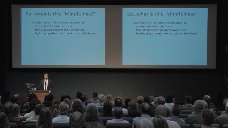 WVIA Special Presentations: Michael Baime, MD - Mindfullness for Life