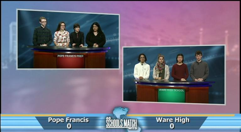 As Schools Match Wits: Pope Francis vs. Ware (Jan. 12, 2019)