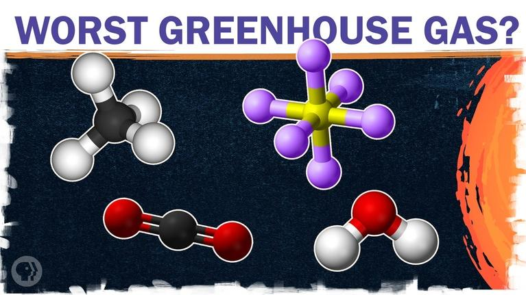 Hot Mess: What's actually the worst greenhouse gas?