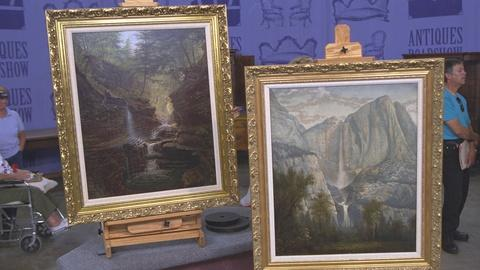 Antiques Roadshow -- S21 Ep19: Appraisal: James Hope Paintings, ca. 1875