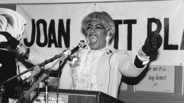 Joan Jett Blakk: The drag queen who ran for president