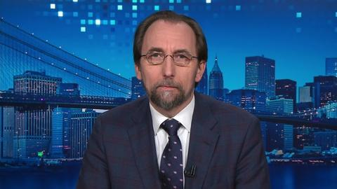 Amanpour and Company -- Zeid Ra'ad Al Hussein on the Situation in Myanmar
