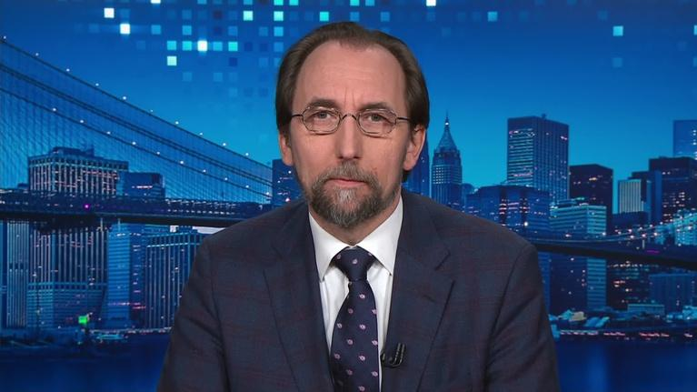 Amanpour and Company: Zeid Ra'ad Al Hussein on the Situation in Myanmar