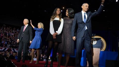 Washington Week -- Obama to make first post-presidency speech