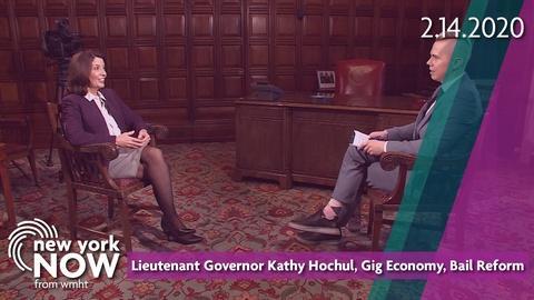 S2020 E7: Lieutenant Governor Kathy Hochul, Gig Economy, Bail Reform