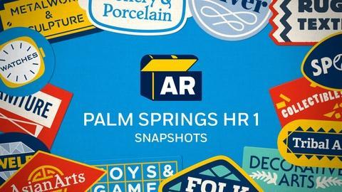 Antiques Roadshow -- Snapshots | Palm Springs, Hour 1