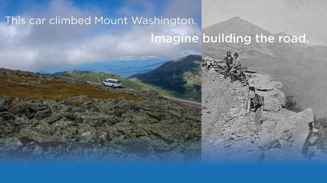 Mt. Washington Auto Road to the Sky