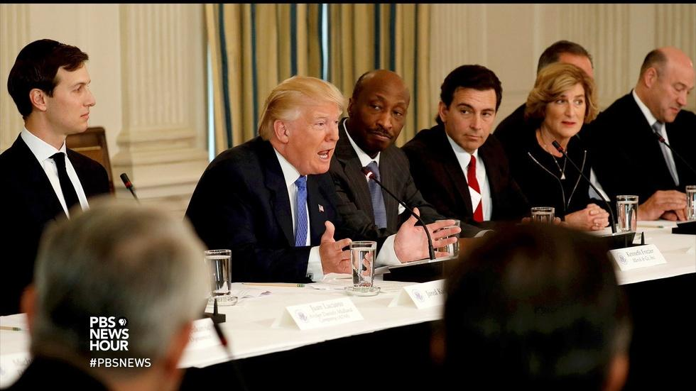 Why CEOs will still come to the table to work with Trump image